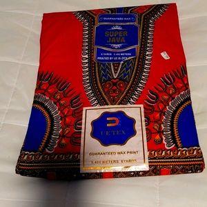 NWT African Wax Print Fabric